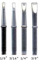 inland deluxe soldering iron tips. Black Bedroom Furniture Sets. Home Design Ideas